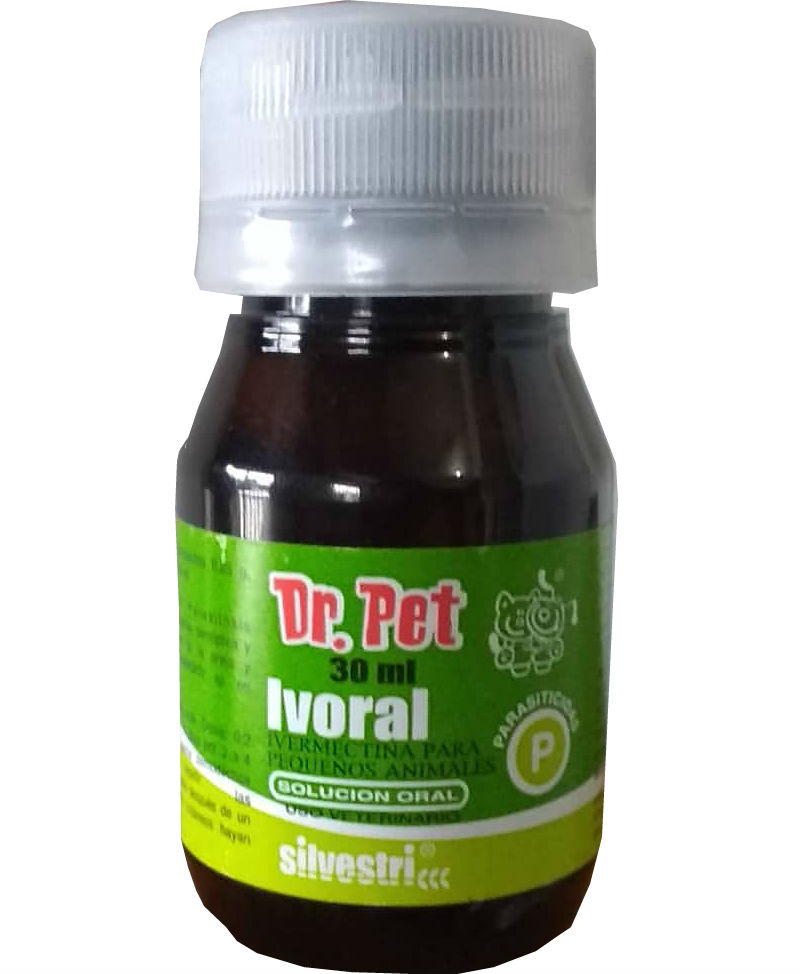 IVORAL SOLUCION ORAL / PERROS / GATOS / IVERMECTINA PARA PEQUENOS ANIMALES / SUSPENSION / DESPARASITANTE