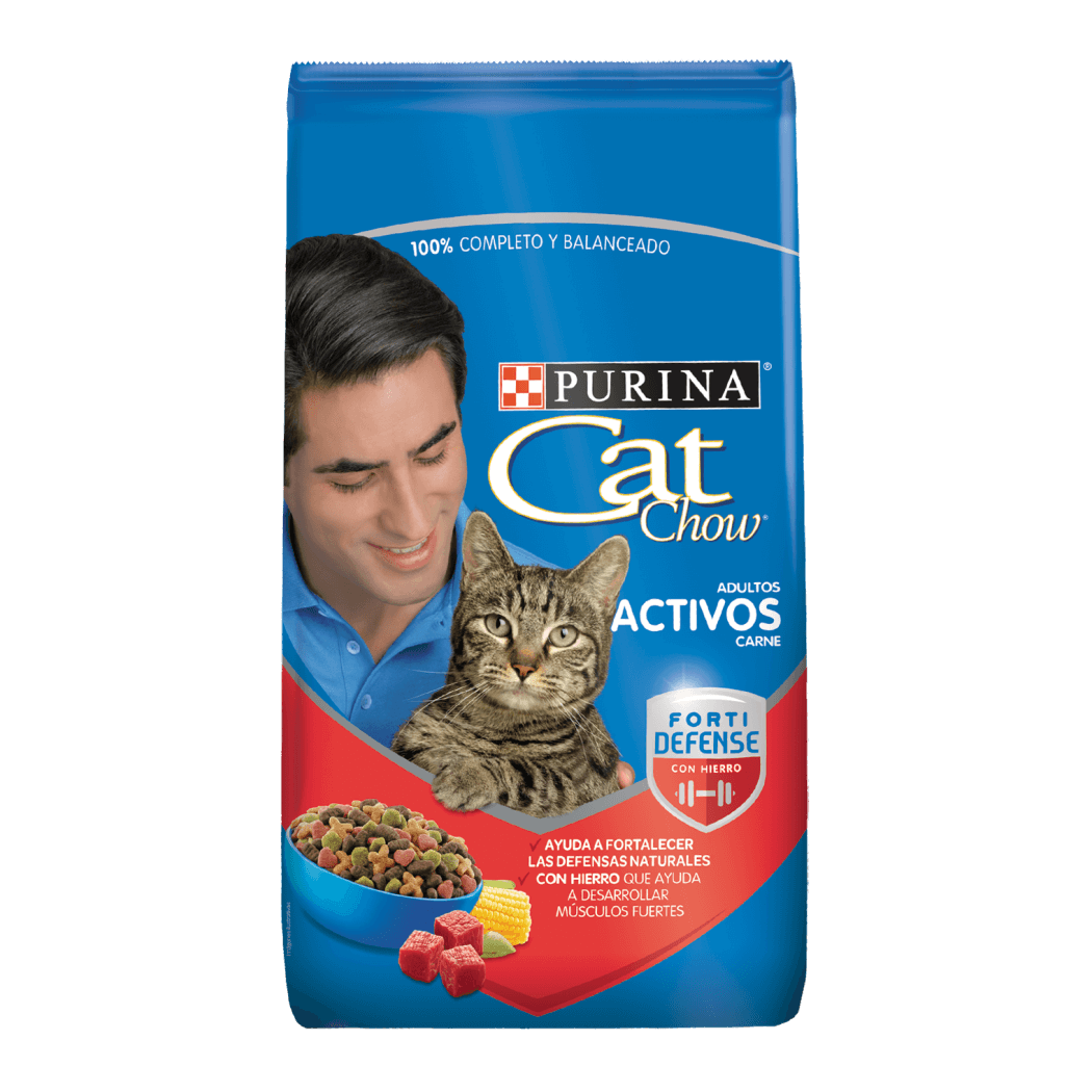 CAT CHOW ADULTO CON CARNE 8 KG / ALIMENTO / GATOS / GATARINA / CATCHOW / CAT-CHOW /