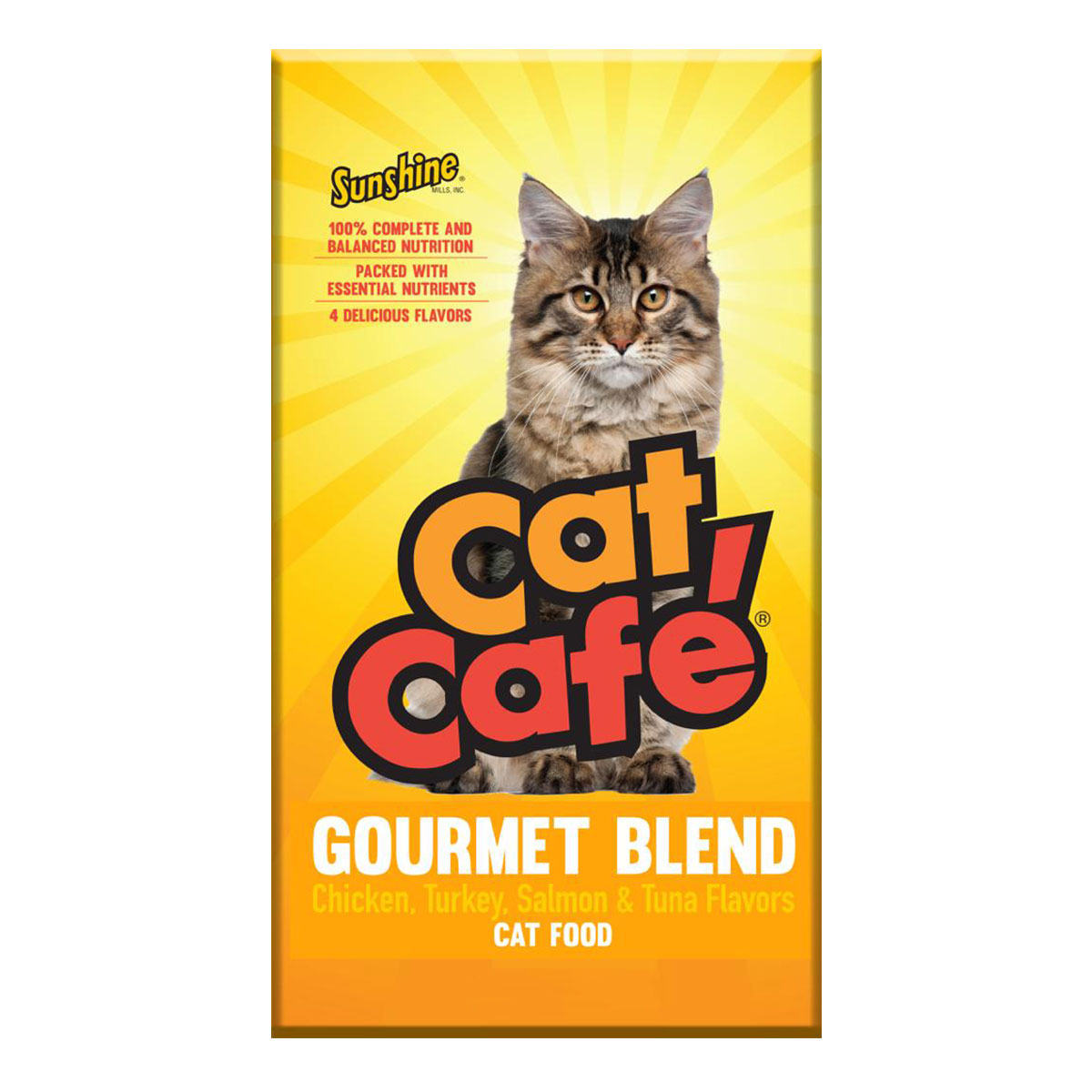 CAT CAFE GOURMET BLEND / GATOS / ALIMENTO / GATARINA /