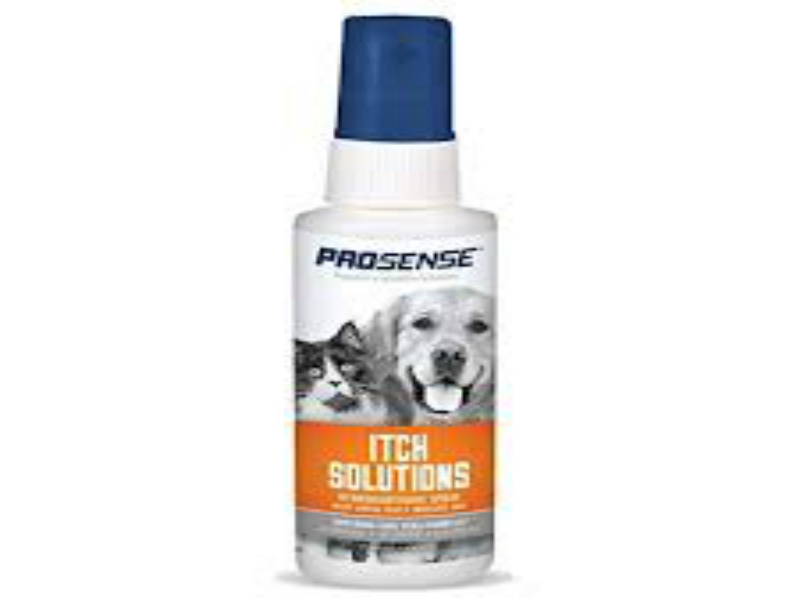 PRO SENSE ITCH SOLUTIONS SPRAY DE HIDROCORTISONA / PERROS / GATOS /