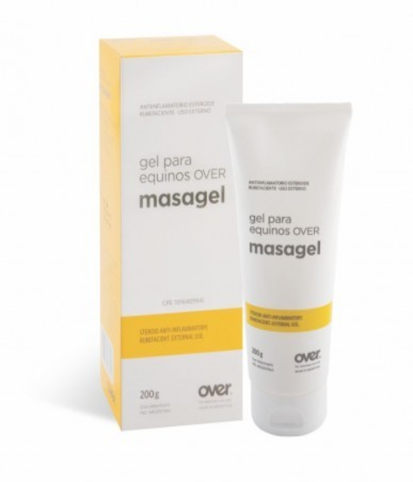 MASAGEL OVER / ANTIINFLAMATORIO / CREMA / CABALLOS