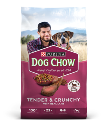 DOG CHOW TENDER & CRUNCHY WITH REAL LAMB 40 LIBRAS / PERRARINA / PERROS / ALIMENTO /